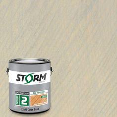 Storm System Category 2 1 gal. Harborside Gray Exterior Semi-Transparent Dual Dispersion Wood Finish