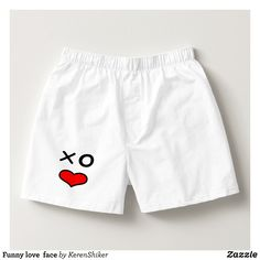 Funny love  face boxers - Dashing Cotton Underwear And Sleepwear By Talented Fashion And Graphic Designers - #underwear #boxershorts #boxers #mensfashion #apparel #shopping #bargain #sale #outfit #stylish #cool #graphicdesign #trendy #fashion #design #fashiondesign #designer #fashiondesigner #style