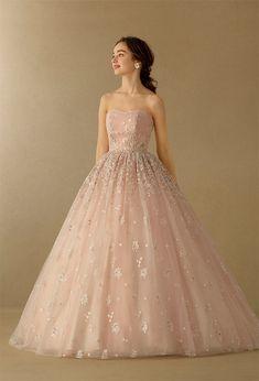 Pink Wedding Dresses, Elegant Wedding Dress, Party Wear Dresses, Elegant Outfit, Prom Dresses, Formal Dresses, Takami Bridal, I Dress, Pretty Dresses