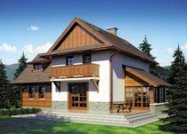 Mój Dom Wisteria CE Dream Home Design, House Design, Wisteria, Mansions, House Styles, Home Decor, Decoration Home, Manor Houses, Room Decor