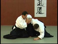 Christian Tissier Aikido Immobilisations - YouTube