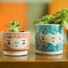 Handmade ceramic planter www.facebook.com/marinskihandmades