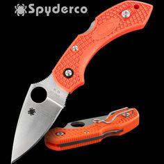 Spyderco Dragonfly2 Orange FRN | Heinnie Haynes