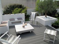 Crédits : Seven Garden. Outdoor Rooms, Outdoor Gardens, Outdoor Living, Outdoor Furniture Sets, Outdoor Decor, Porches, London Garden, Balcony Garden, Garden Styles