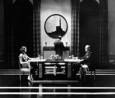 Cedric Gibbons set design from The Kiss (1929)