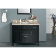 New Waves Malibu Single Sink Vanity