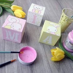 Projects For Kids, Diy For Kids, Gifts For Kids, Craft Projects, Baby Painting, Painting For Kids, Painting On Wood, Creative Arts And Crafts, Diy And Crafts