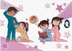 Little Heji_Kazuha and Shinichi_Ran