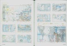 Spirited Away - Storyboards