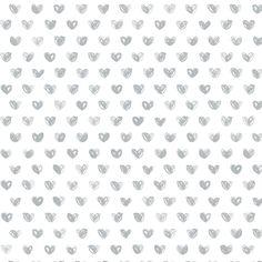 Love Wallpaper Roll / Silver - The Project Nursery Shop - 5