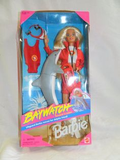 Barbie Toy Doll Baywatch TV Show Mattel 1994  #13199  NIB #Mattel