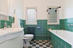 Bathroom from ca 1930, Stockholm