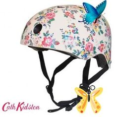 Helmets If only Cath Kidston made bike helmets... hang on a minute they do! And its only £35. Yay!<br> Womens Bike Helmet, Bike Helmets, Cath Kidston