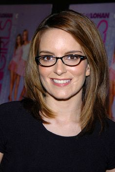 Tina Fey: Creator of 30 Rock, Mean Girls, writer on Saturday Night Live.