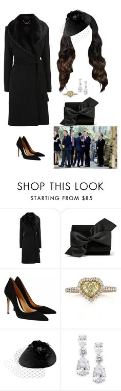 """""""Attending The Funeral Of Henry Worsley With William"""" by duchessofoxfordshire ❤ liked on Polyvore featuring Karen Millen, Victoria Beckham, Gianvito Rossi, Mark Broumand, Rosie Olivia, CZ by Kenneth Jay Lane, women's clothing, women, female and woman"""