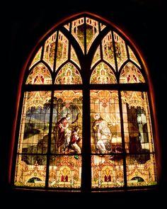 My favorite window.  Emmanuel Episcopal Church, Shawnee, Oklahoma