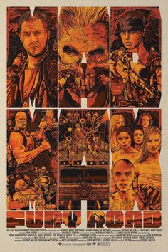 Mad Max: Fury Road Poster by Christopher Cox