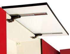 Ys336 B Cabinet Door Upward Smooth Slide Track Upward
