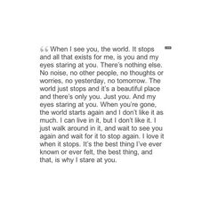 Favorite quote from my favorite book. Million little pieces-James Frey
