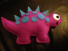 Felt Dinosaur