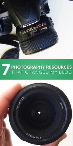 7 Photography Resources that Changed My Blog