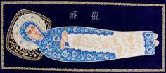 Shroud for Dormition, $2,760.00, Catalog of St. Elisabeth Convent. About workshop: http://catalog.obitel-minsk.com/gold-embroidery  #icon #MotherofGod #Blessed #VirginMary #CatalogOfGoodDeed #christianity #orthodoxy #church #Mary #goldwork #inspiration#orthodoxcraft #SewnGoods #art #beauty #ecclesiastical #iconsinoklad #shrouds