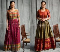 Lehenga Designs, Half Saree Designs, Kurta Designs, Saree Blouse Designs, Dress Designs, Long Gown Dress, Sari Dress, Anarkali Dress, Diy Dress