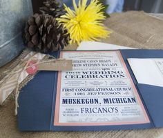 rustic wedding invitation, navy and pink wedding invitation, barn wedding inspiration, spring wedding 2015 ideas, burlap and lace wedding invitation