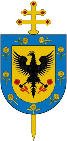 File:Escudo Arquidiócesis de Bogotá.svg - Wikimedia Commons Wikimedia Commons, Flag, Country, Arms, Coats, Blanco Y Negro, Blue Nails, Coat Of Arms, Wraps