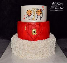 wedding cake - cake by Didis Cakes
