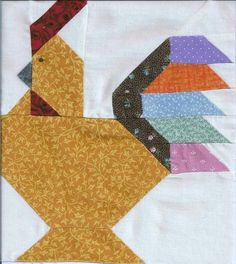 Chicken+Quilt+Block | Pw_Quiltworks's Page - BackYard Chickens Community