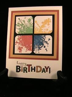 Extreme Birthday - Stamp Class 5/12 by susie nelson - Cards and Paper Crafts at Splitcoaststampers
