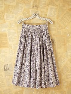 Vintage Knee Length Skirt at Free People Clothing Boutique