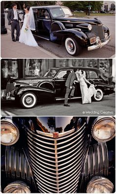 1940 Cadillac limo - it has a name, Godfather II.  this is the car that carried my wife and I away after we were married...