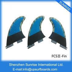 28.50$  Buy here - http://aliuzy.shopchina.info/go.php?t=32698987579 - FCS2 Surfboard Quilhas fcs ii Carbon Blue Fin, Orange carbon Surf Fin New Design FCSII Fins For Sale  #SHOPPING
