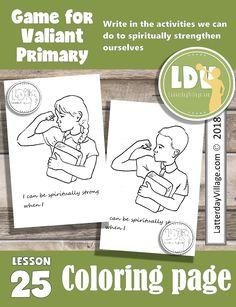Primary 6 Lesson 25 - Samson - LatterdayVillage