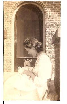 Baby Janis Joplin & her mother, Dorothy