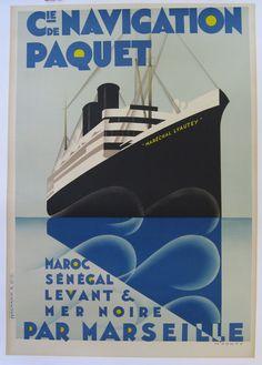 Cie de Navigation Paquet - Par MarseilleI