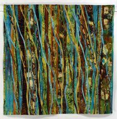 Carol Larson Art Quilt - texture