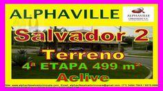 Terreno para venda, Alphaville Salvador 2, 4ª Etapa, 499 m². Lote escriturado, em aclive, localizado na 4ª etapa, Alphaville Salvador II,  com área de 499 m², sendo 14 de frente.