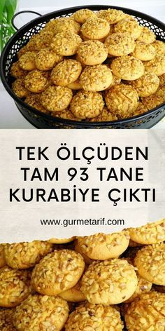 Cookie Recipes, Dessert Recipes, Desserts, Good Food, Yummy Food, Turkish Recipes, Food Crafts, Food Hacks, Finger Foods
