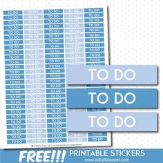 Download these FREE printable stickers in JPEG HERE or have a look at more cute designs HERE