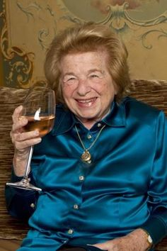 Dr. Ruth is now in the wine business! She's an amazing lady, and I'm proud to edit her column.