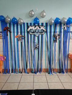 Backdrop Max Steel