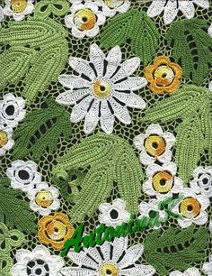 #crochet #leaves #flowers green_leaves by antonina.kuznetsova, via Flickr #afs 21/5/13