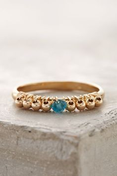 Birthstone Stacking Ring - anthropologie.com