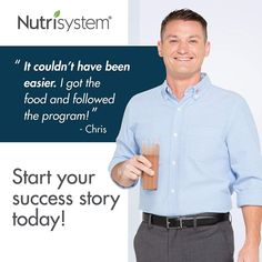 Nutrisystem for Men Get a Fresh Start Save big on Nutrisystem for Men. You eat. You can get the body you want without giving up the food you love.