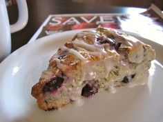 Lemon blueberry scones are easy to make and are a real treat with coffee or tea.