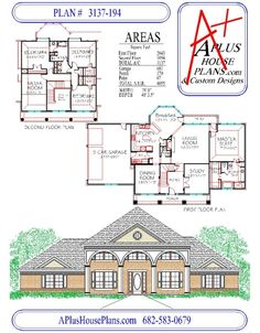 Modern colonial house plans