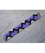 Bracelet: Geometric Motif in Pastel Colors, Peyote Stitch, Tube Clasp - $39.00 Peyote Stitch, Pastel Colors, Friendship Bracelets, Beaded Jewelry, Beading, Tube, Pastel Colours, Beads, Pearl Jewelry